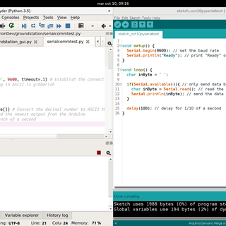 Interface Python and Arduino With PySerial