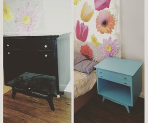 DIY: Found Furniture, Before & After