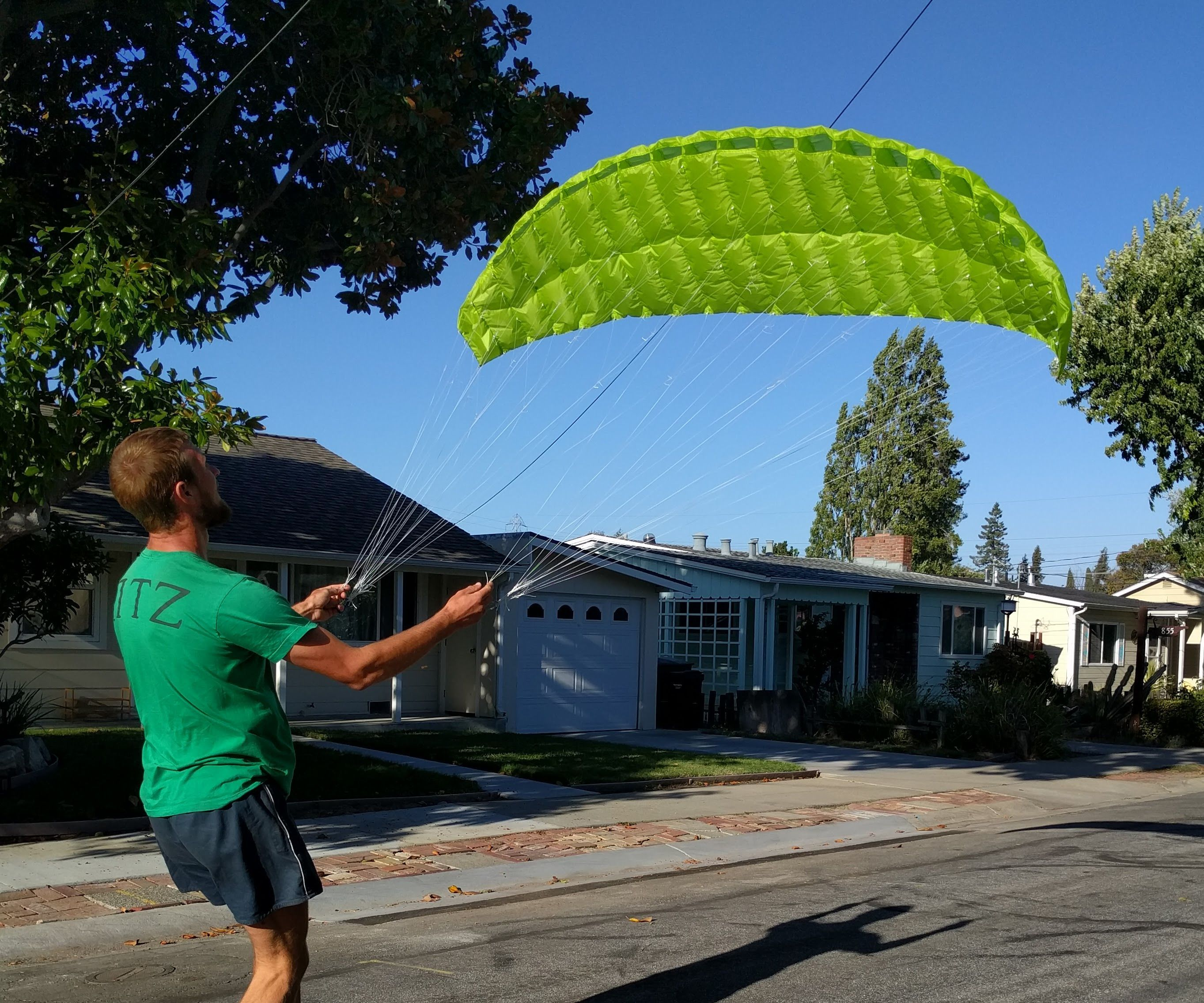Sewing a Mini Paraglider