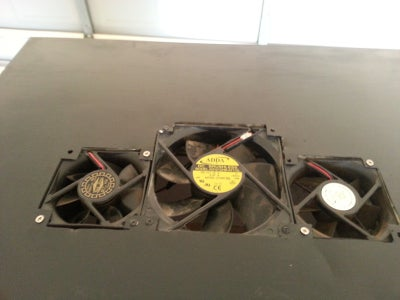 Hang the Door and Fit the Fans!