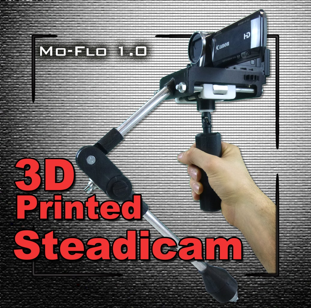 3d Printed Merlin Style Steadicam: MO-FLO 1.0