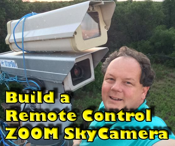 View the skies and space via remote control with your own Skycam!
