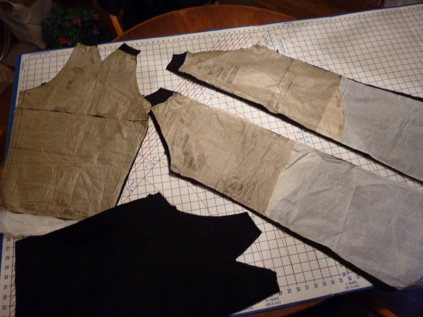 Cutting Out the Fabric