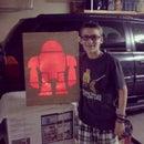 Light up Wall Make Robot
