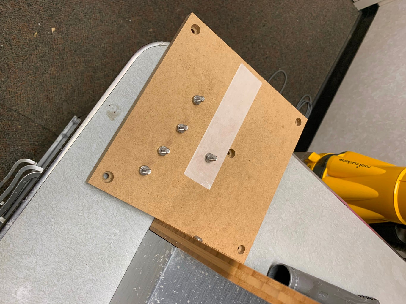 Attach Your Wooden Spacer Board