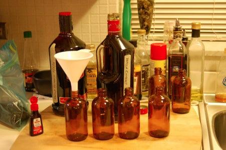 Bottle, Label, Gift.
