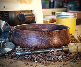 Turning an Exotic Wood Bowl | Small Bowl Turning