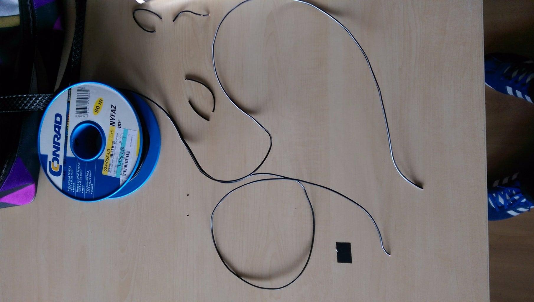 Preparing Wires for Finger Touch Senses