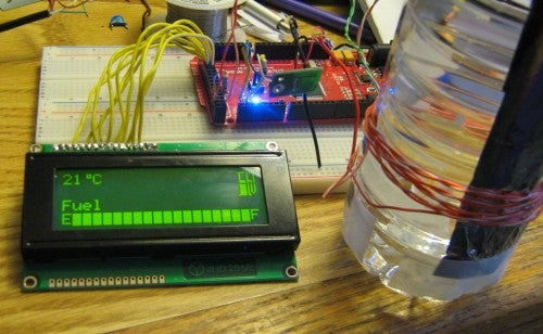 Building a Capacitive Liquid Sensor