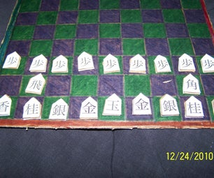 Make a Shogi Set in About an Hour Using Recycled Materials