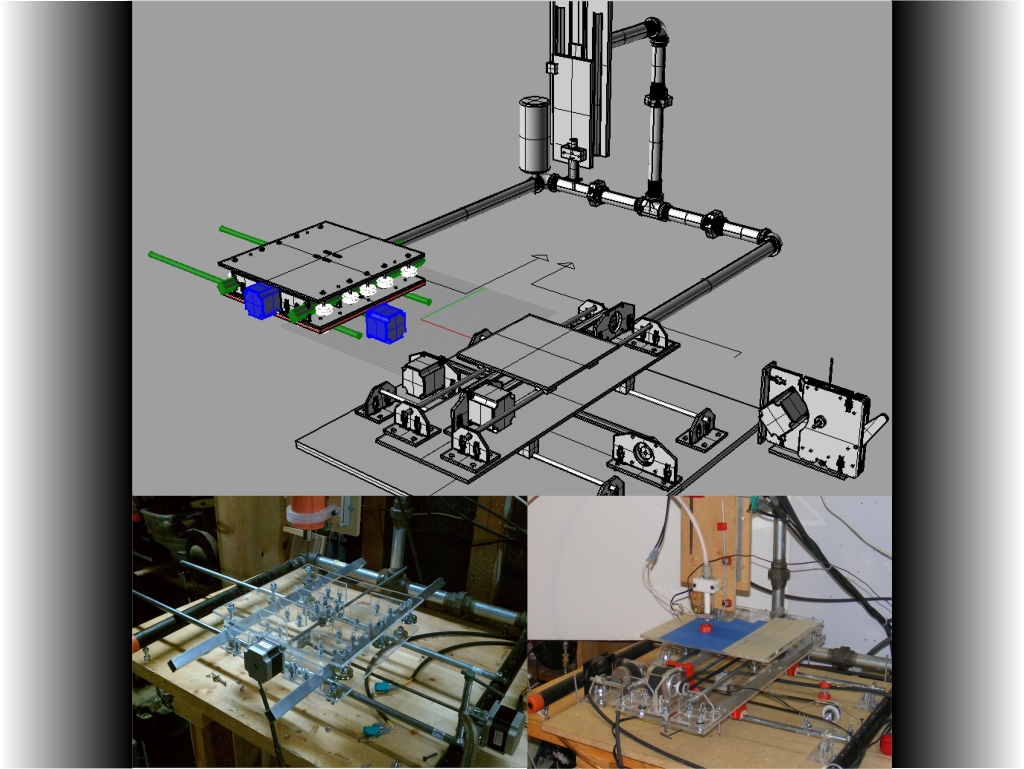 Combination CNC Machine and 3D Printer