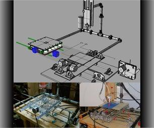 Combination CNC Machine and 3D Printer