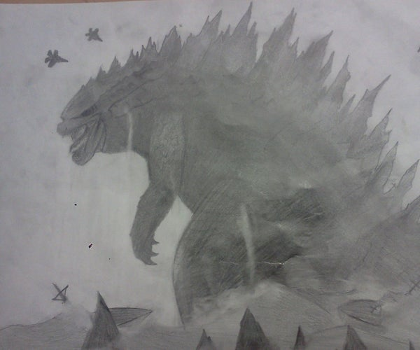 How to Draw Godzilla: the King of the Monsters