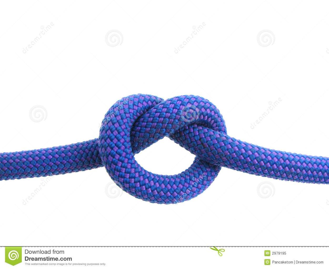 Tie the Horizontal Cords