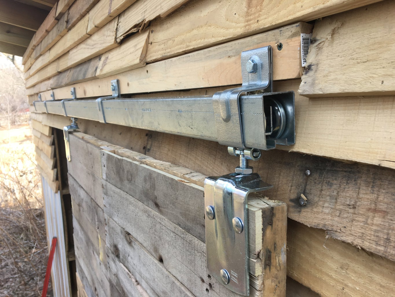 Step 9: Mounting the Barn Door