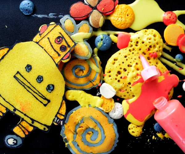 Pancake Art: What NOT to Do