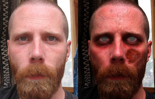 """How to Manipulate a Photo to Be a """"Zombie"""""""