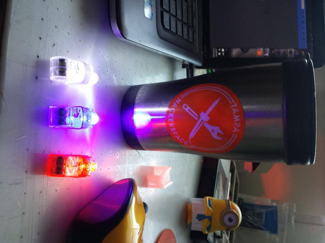LED Finger Lights and 3D Printing