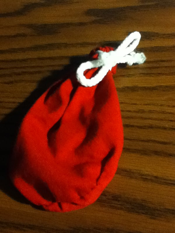 Homemade Small Pouch / Dice Bag