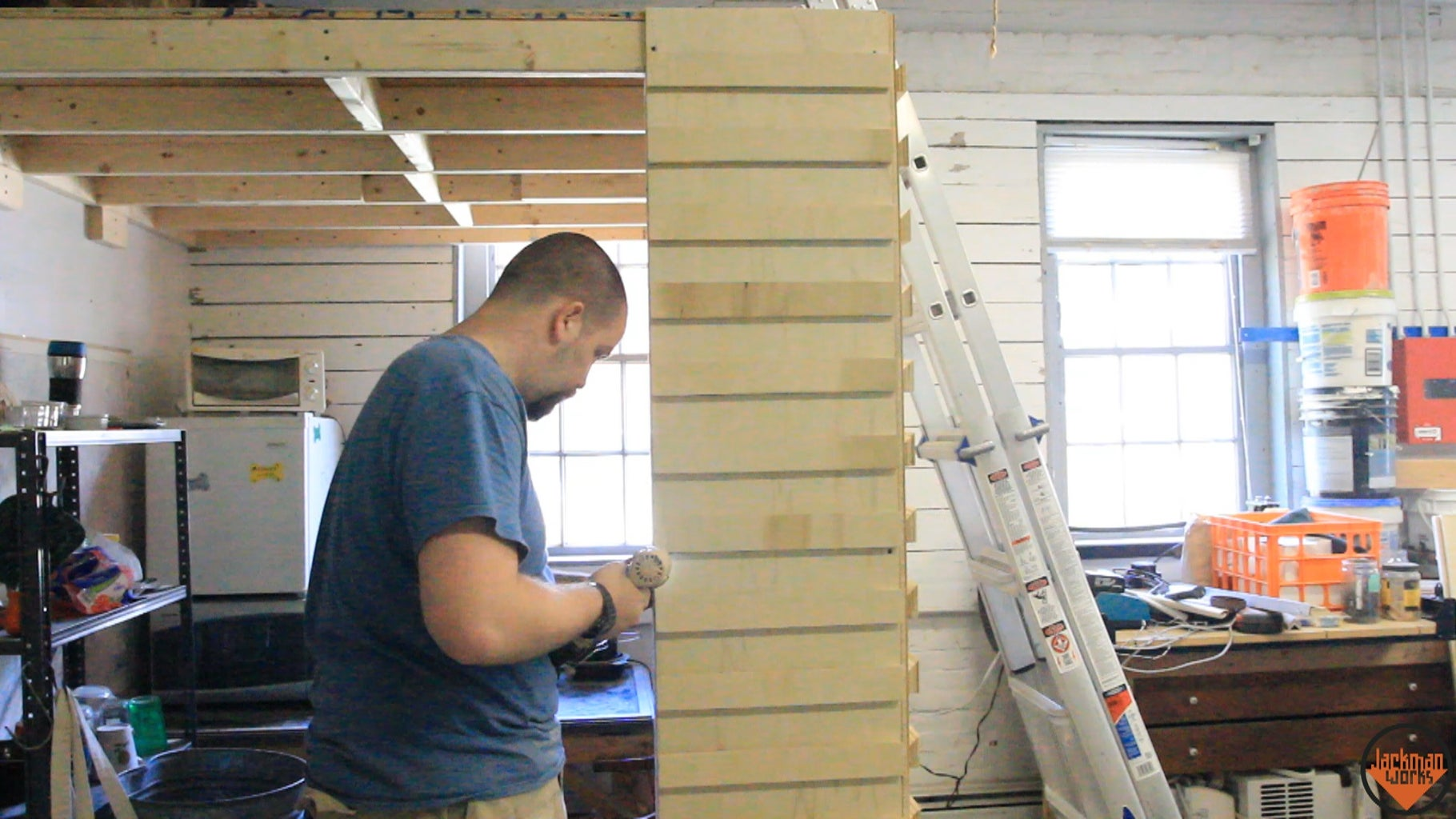 Building & Installing 2nd Wall