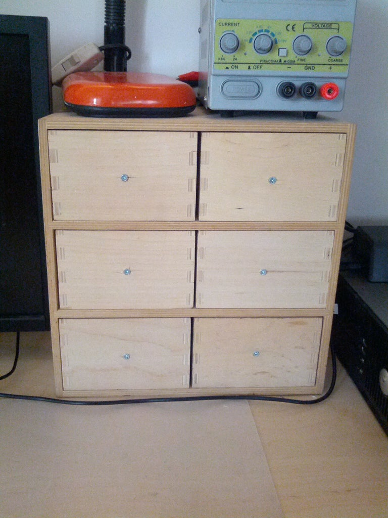 Childproof Drawers for Your Parts