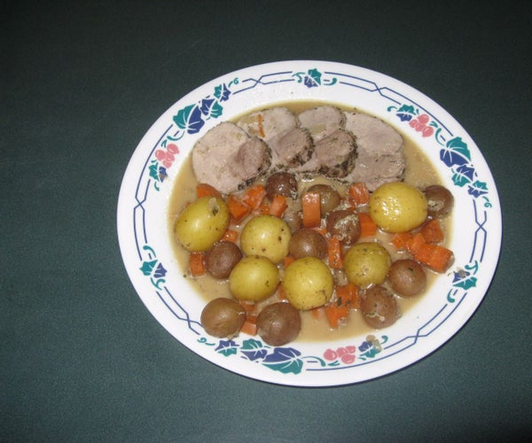 Roasted Pork Sirloin