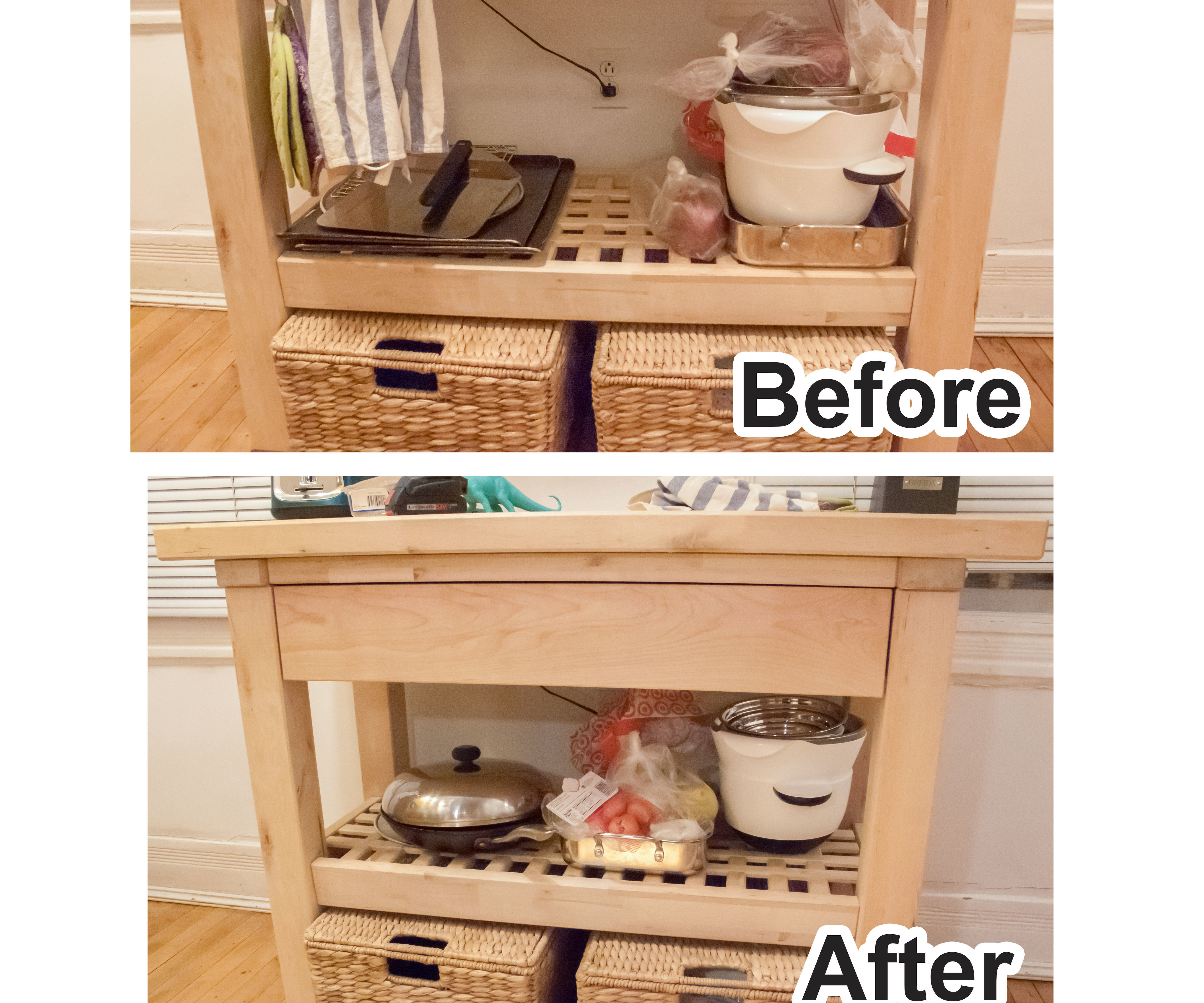 Adding A Drawer To An Ikea Kitchen Island 4 Steps With Pictures Instructables