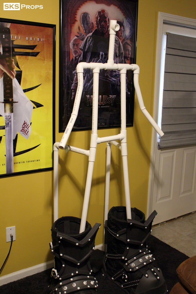 PVC Skeleton Getting Everything Together to See the Scale
