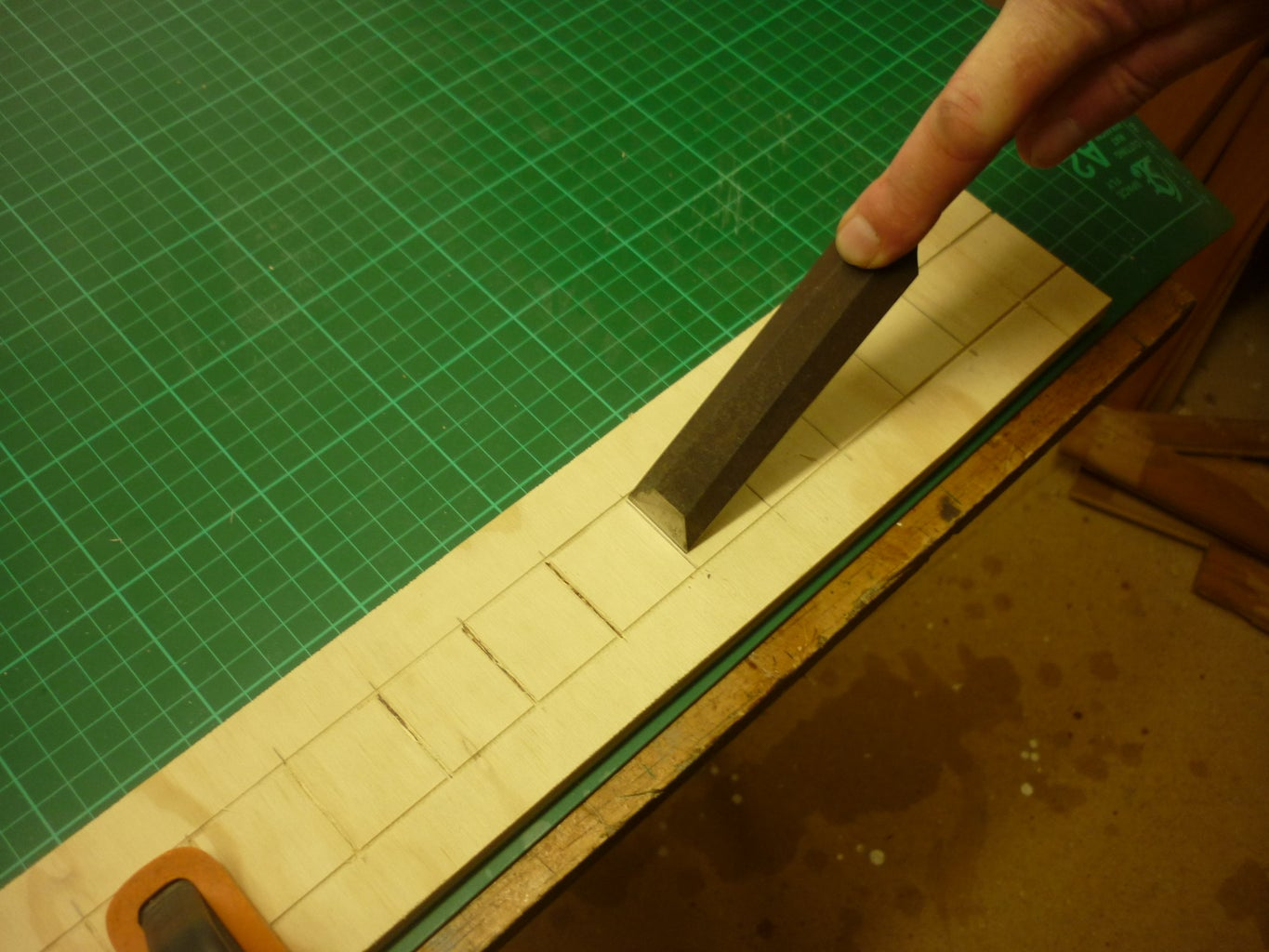 Carving Squares