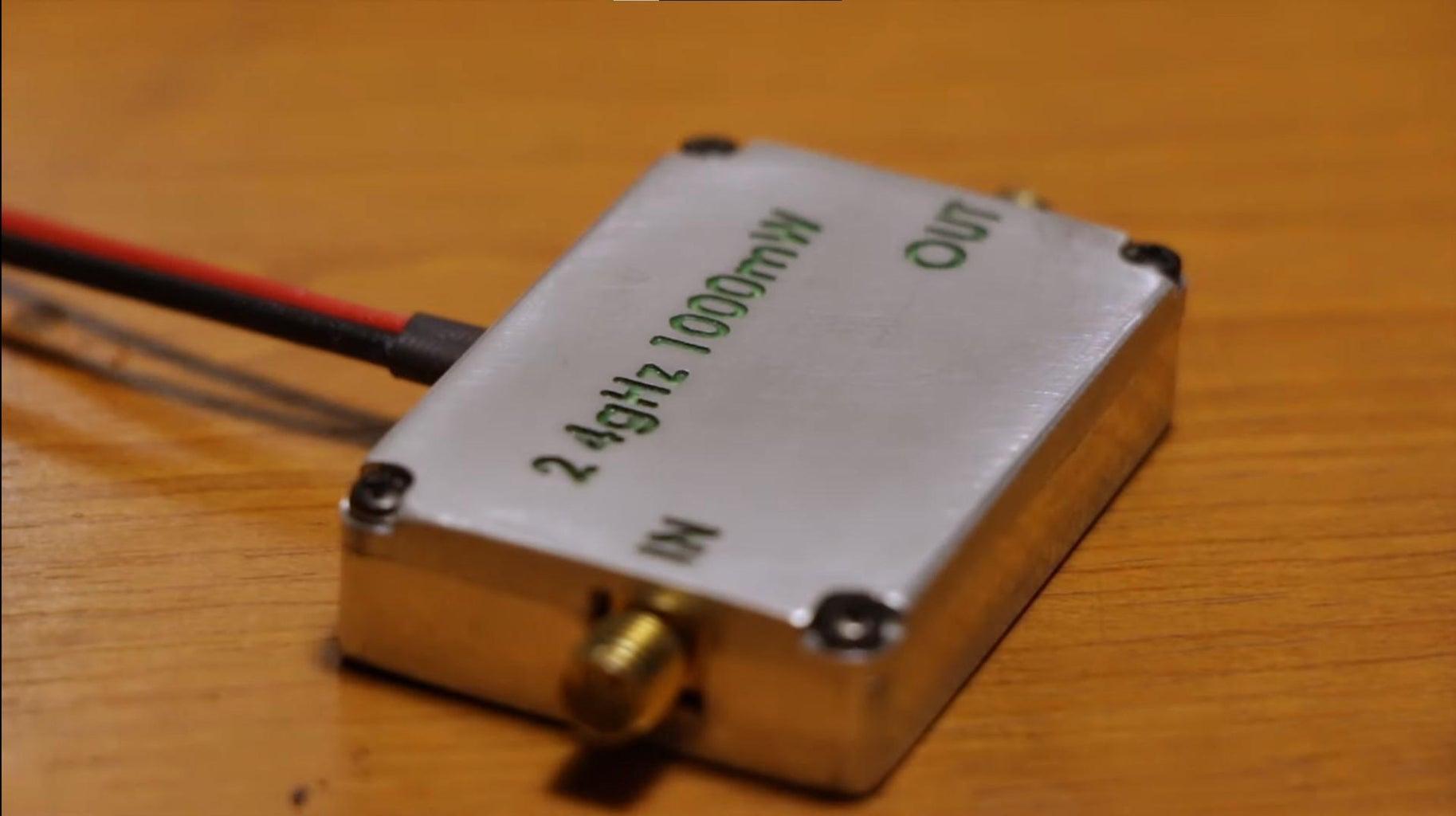 DIY 1000 MW 2.4 GHz RF Amplifier