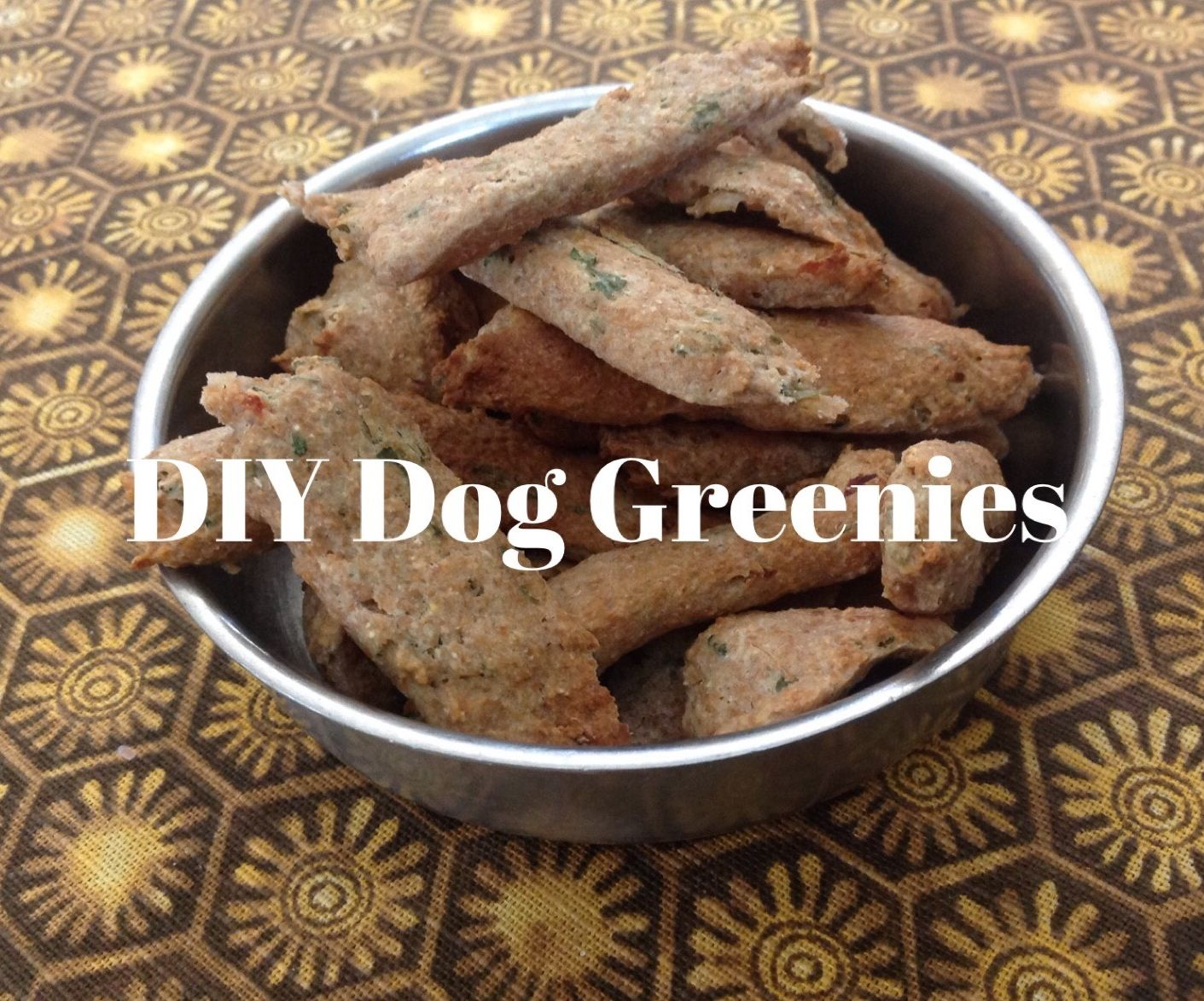 Homemade Dog Greenies For Fresh Breath And Clean Teeth