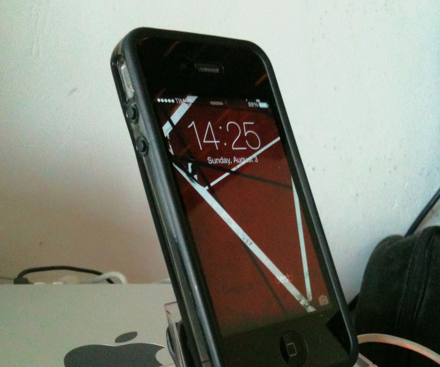 Mini DV tape case 2 iPhone Dock