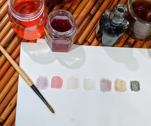 Making Natural Inks