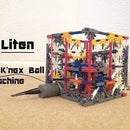 Liten a K'nex Ball Machine