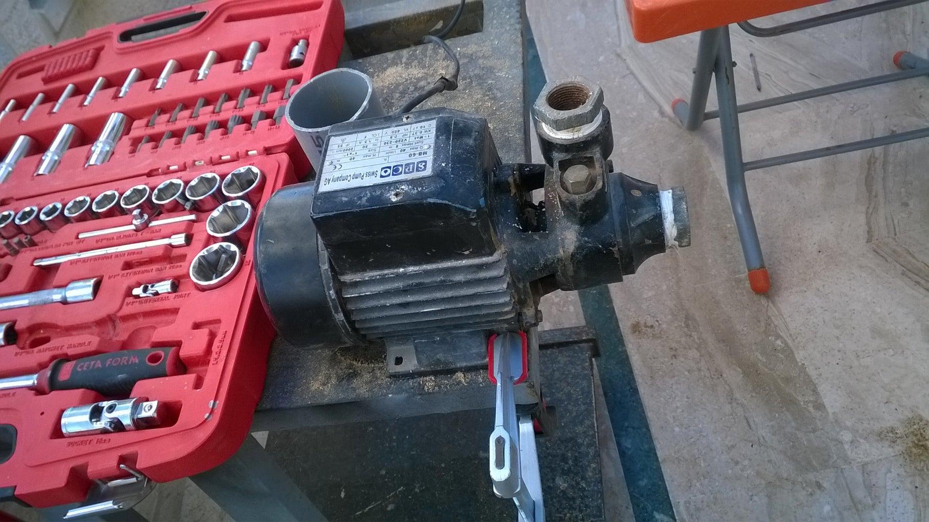 Preparing the Motor