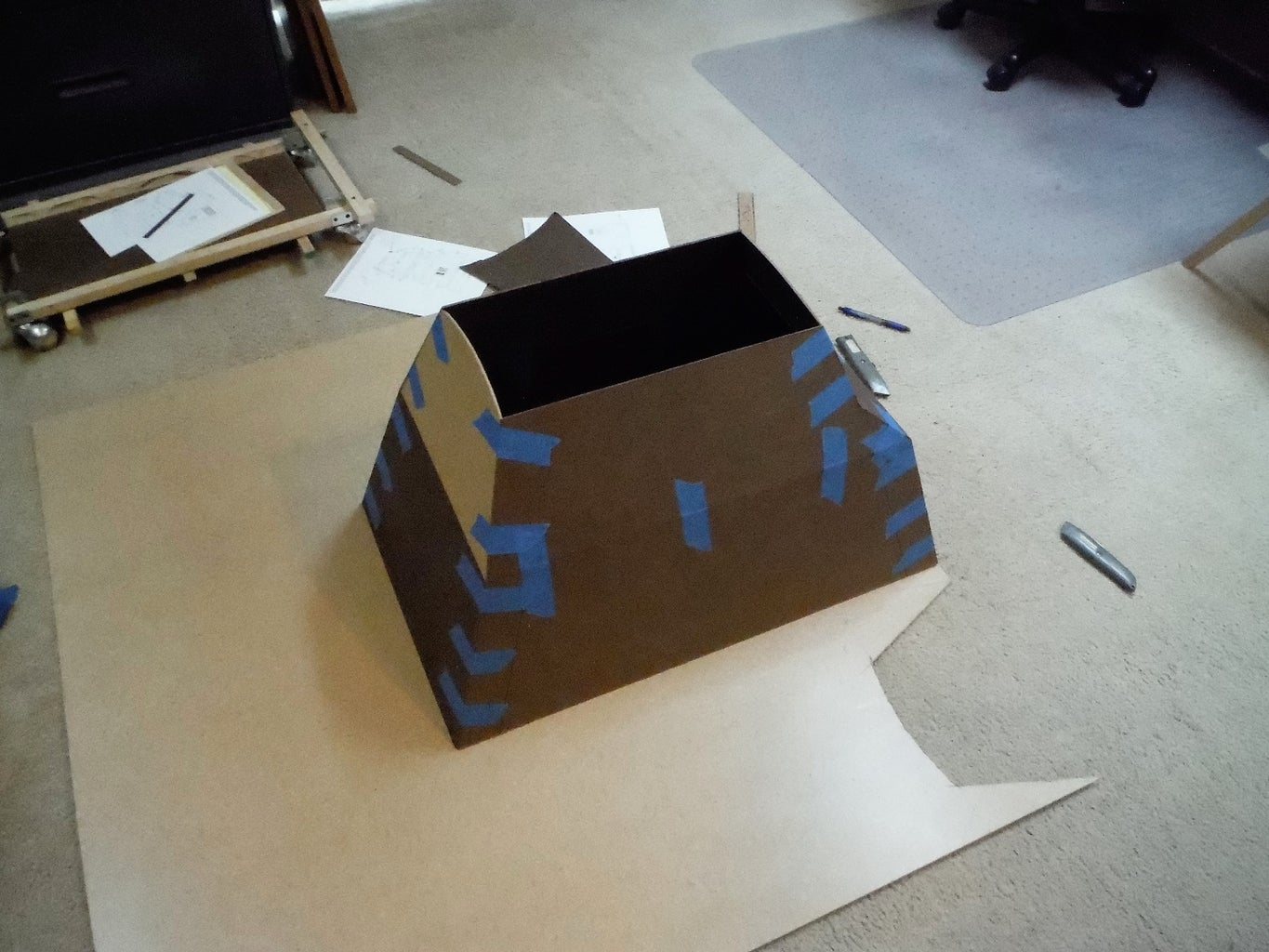 Blue Tape and Body Panels