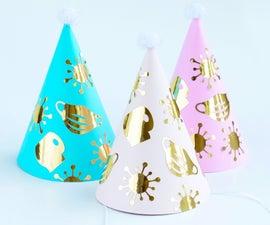 Quarantine Birthday Party Hats