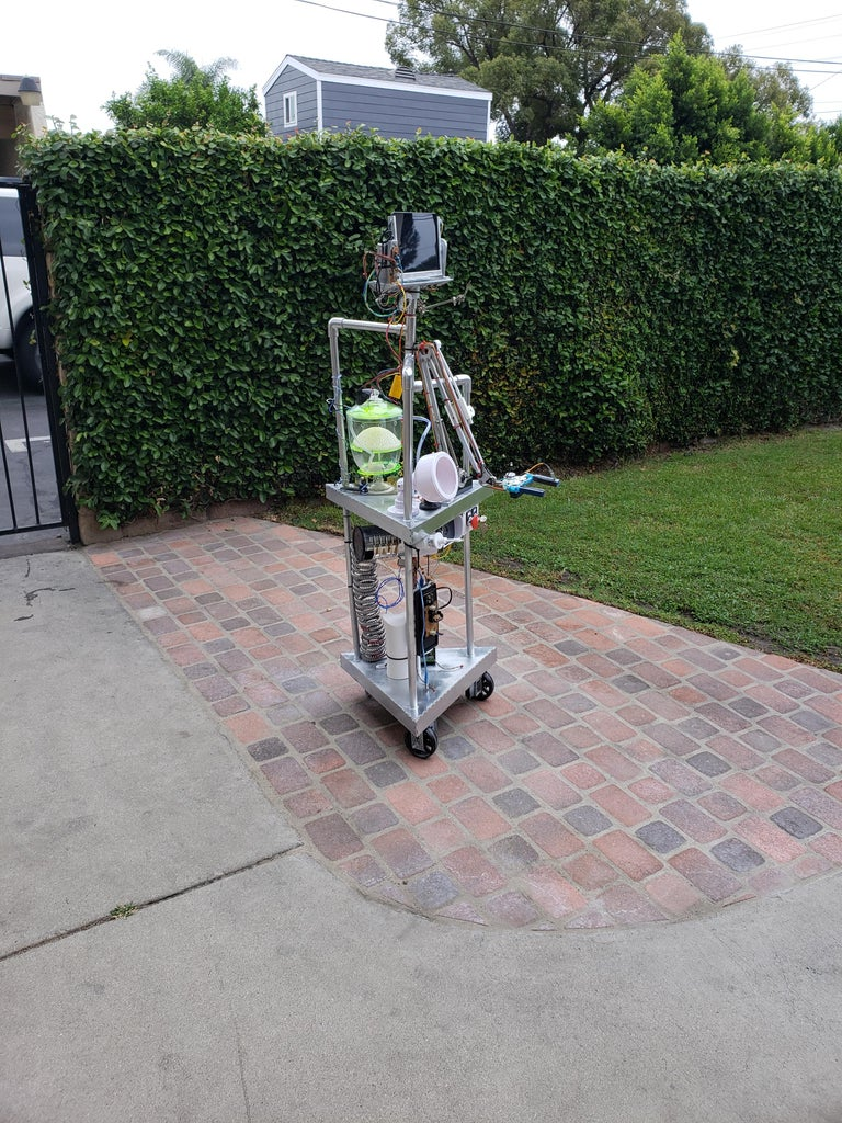 Human Sized Telepresence Robot With Gripper Arm