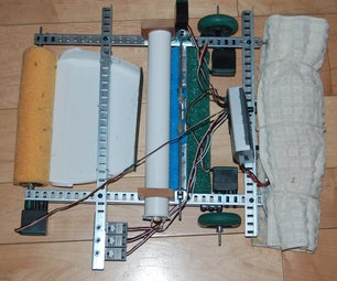 Floor Cleaning Robot With Vex Robotics System