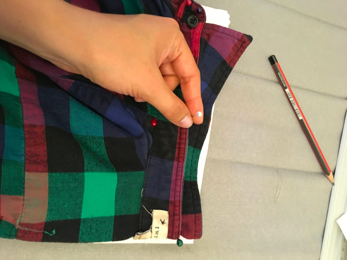 Shirt Pattern-making With Your Own Shirt