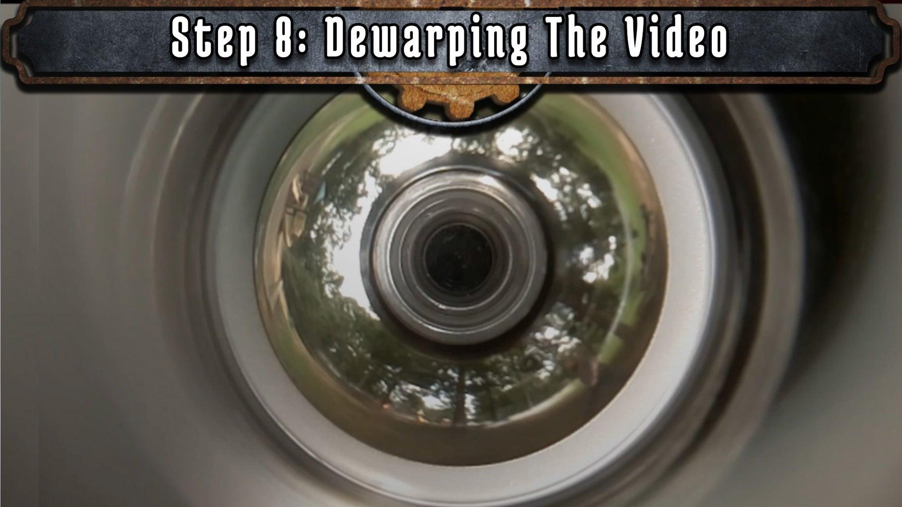 Dewarping the Video