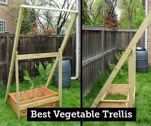 My Best Vegetable Trellis: Durable, Collapsible, Flexible