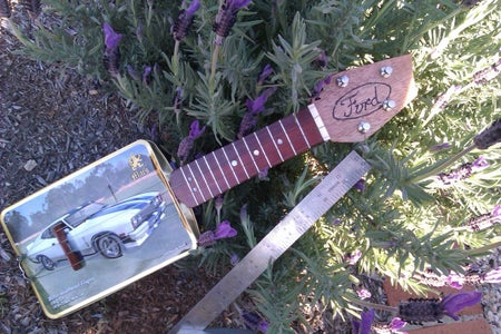 Ford Mini Glovebox Guitar/ukulele