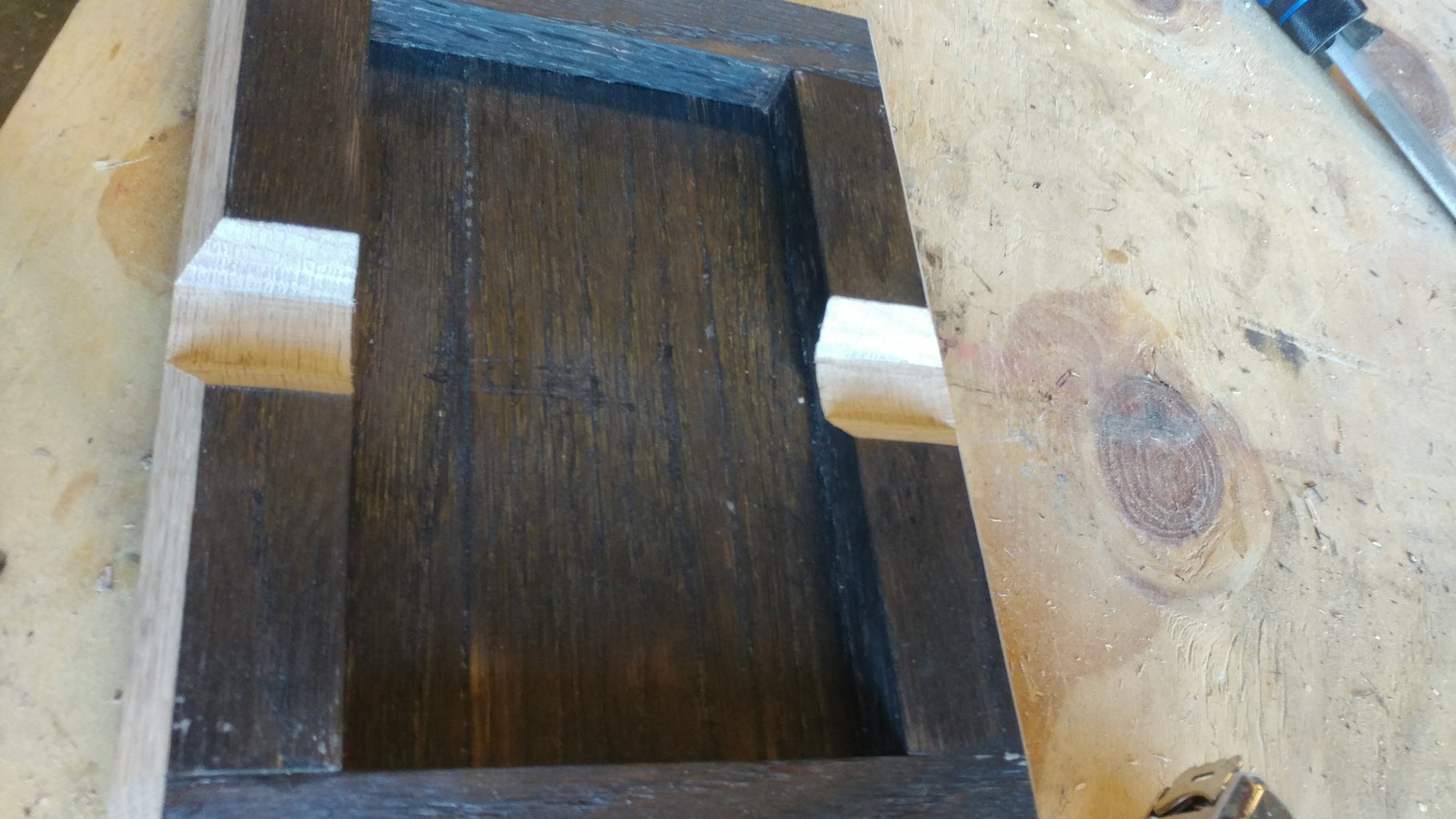 Cutting the Notches and Edges