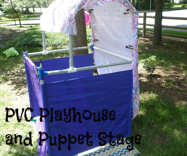 PVC Playhouse and Puppet Stage