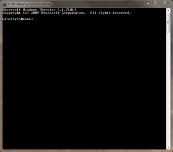 Open Your Command Prompt