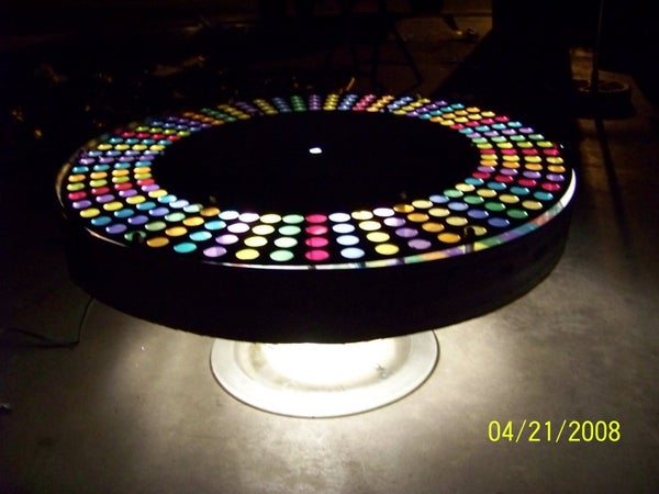 The UFO Coffee Table!!