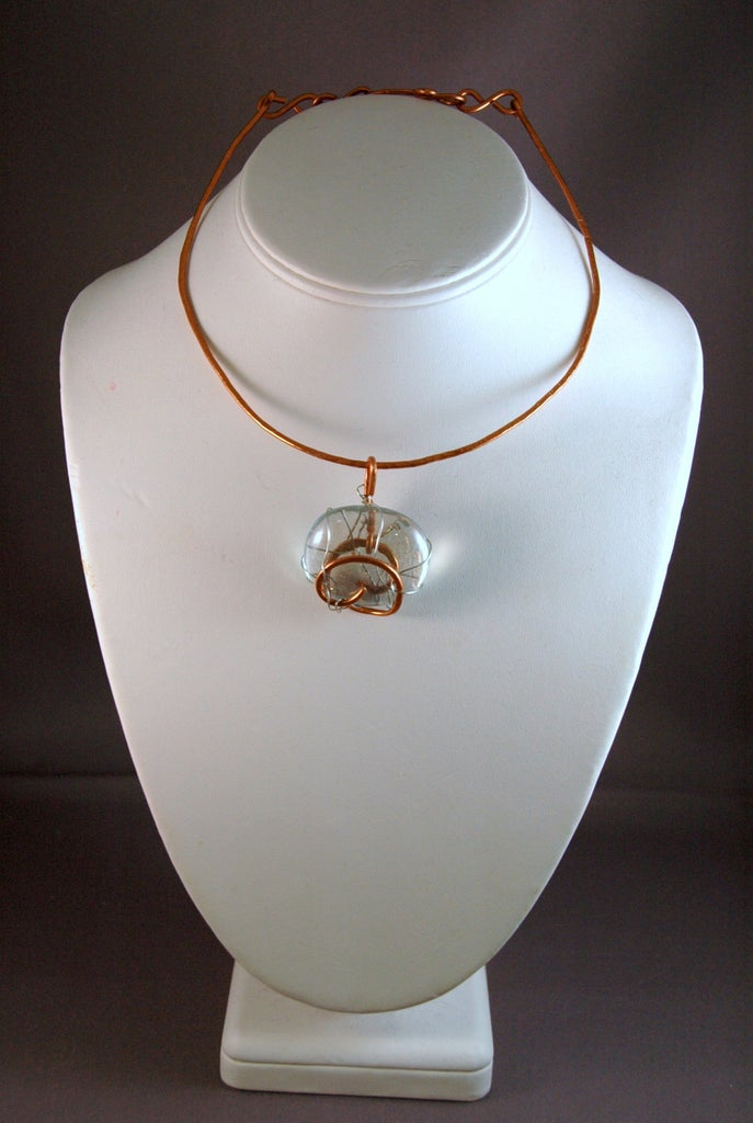 Hammered Wire Necklace