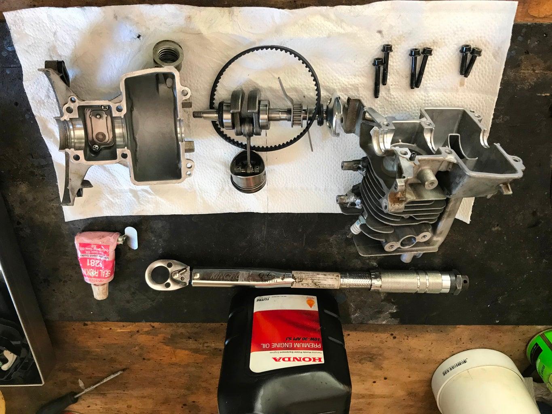 Honda GX25, Part 3: Rebuilding