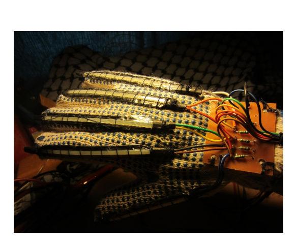 Haptic Glove with DIY Flex Sensors